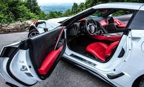 white corvette interior car and driver road tests a manual equipped 2017 corvette grand
