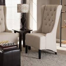 Beige Accent Chair Wingback Accent Chair By Christopher Home Free