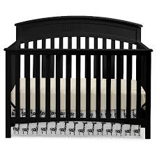 Black Convertible Crib Graco Charleston 4 In 1 Convertible Crib Black Target