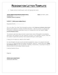 resigning letter format pdf choice image letter samples format