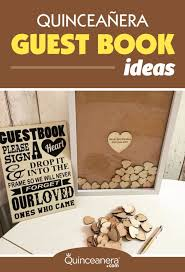 guest sign in books clever quinceanera guest book ideas you t seen before