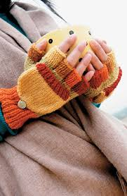 these fingerless gloves by sccpinner are great gifts for someone