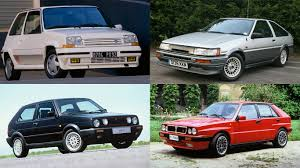 renault hatchback from the 1980s the 20 greatest hatches of the 1980s motoring research