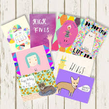 assorted greeting card pack