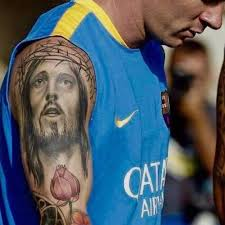 lionel messi s 7 tattoos their meanings guru