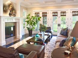 Traditional Family Rooms by Blinds And Curtains Together Traditional Family Room By Dayna