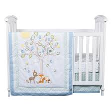 forest tales 6 piece crib bedding set trend lab