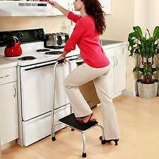 etna jsny handy support step stool with handle 084358041410 ebay