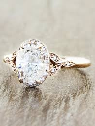 diamond rings vintage images Rachael oval diamond rose gold engagement ring ken dana design jpg