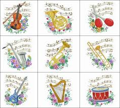 musical ornaments you ll the way the graceful musical notes