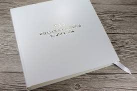 leather bound wedding albums wedding archives bespoke album company