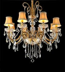 Chandeliers With Shades And Crystals by Champagne Crystal Chandelier Promotion Shop For Promotional