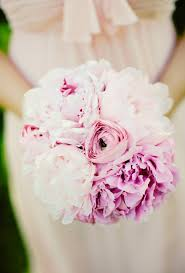 Bridesmaid Bouquets 44 Fresh Peony Wedding Bouquet Ideas Brides