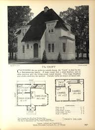 small retro house plans the croft home builders catalog plans of all types of small