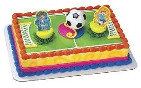 soccer cake miguel soccer cake set kidssoccerworld