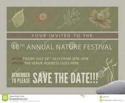 save the date cards free template event flyer or save the date card stock illustration