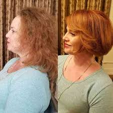 wash and go hairstyles for women over 50 hairstyles for overweight women over 50 chubby women haircut