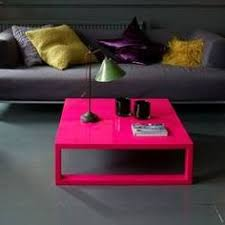 Pink Coffee Table Magenta High Gloss Lacquered Coffee Table D E C O R A T E