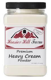 The Powder Room New Farm Hoosier Hill Farm Heavy Cream Powder Jar 1 Pound Amazon Com