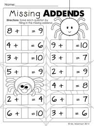 halloween math worksheets first grade worksheets