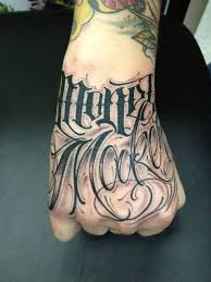 tattoo for hand mexican lettering tattoo for hand tattooshunter com