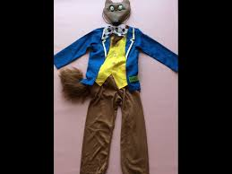 Fantastic 4 Halloween Costumes Roald Dahl Fantastic Fox Fancy Dress Costume Age 3 4 Book