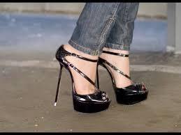 high heels designer walking in designer high heels platform shoes