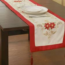 christmas table linens sale clearance sale 40x110cm christmas table cloths table runner table