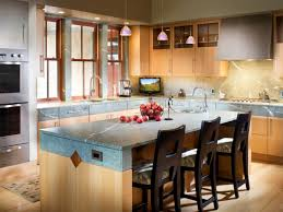 Open Kitchen Plans With Island Contemporary Simple Kitchen Table Design Island Combination Dining