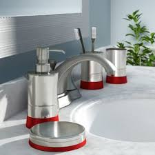 deco bathroom style guide glamorous deco bathroom accessories wayfair of interior home