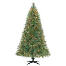 6 5 u0027 slim mixed pine christmas tree cheerful christmas with kmart