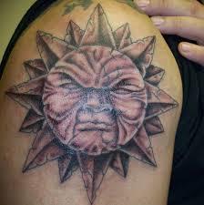 sun tattoos designs for sun design tattoos