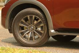 nissan armada wheel size 2017 nissan armada first drive automobile magazine