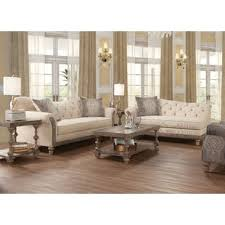 beige sofa and loveseat living room sets you ll love wayfair