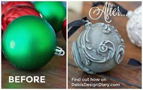 epic dollar store ornament makeover hometalk