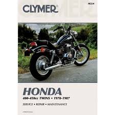 amazon com clymer repair manual for honda 400 450 twin 78 87