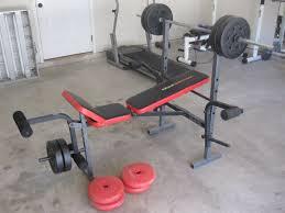 Weider Pro 125 Bench Weider 245 Weight Bench Espotted