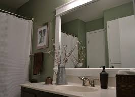 Framed Bathroom Mirror by 107 Best Bathroom Mirrors Images On Pinterest Bathroom Ideas