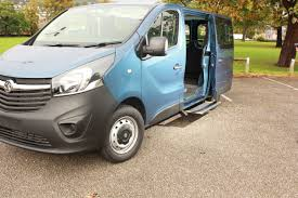 opel vivaro interior vehicle step opel vauxhall vivaro access ability english access