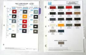 buy 2002 land rover dupont color paint chip chart all models