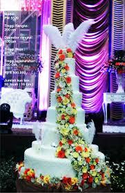 Wedding Cake Tangerang Wedding Cake 7 Tiers By Pelangi Cake Bridestory Com