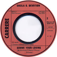 You Light My Fire 45cat Sheila B Devotion You Light My Fire Gimme Your Loving