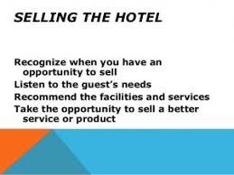 Front Desk Upselling Hotel Selling Techniques Bng Hotel Management Kolkata