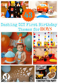 1st birthday for boys 43 dashing diy boy birthday themes
