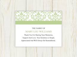 funeral thank you notes funeral thank you cards funeral thank you notes