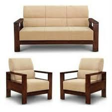 Teak Wood Sofa Set Sagvan Ka Sofa Shri Shakumbhari Furniture - Teak wood sofa sets