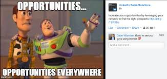 Buzz And Woody Memes - how everyone on linkedin killed my love of the meme vice