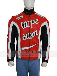 red motorcycle jacket new torque carpe diem leather jacket film star look