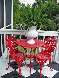 Pier One Bistro Table Fantastic Red Outdoor Bistro Set Pier One Bistro Sets Pictures To