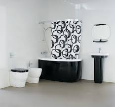 Dramatic Shower Curtain Black Bathtubs With Dramatic Influence For Every Taste